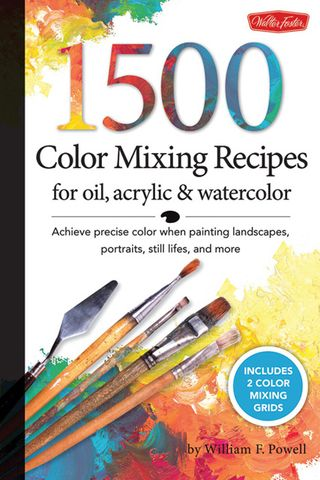 1500 color mixing recipes painting
