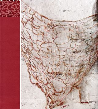 Knit lightweight shawl pattern open