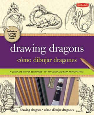 How to draw dragons book kit