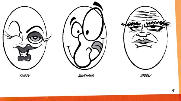 ... expressions from the book Cartooning: 100 Cartoon Faces & Expressions