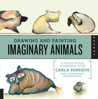 How to draw  paint imaginary animals
