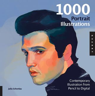 1000 portrait illustrations book