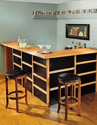 How to build a bar for entertaining