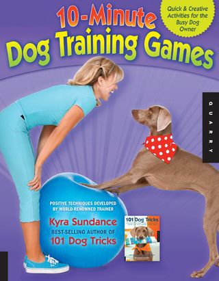 10 minute dog training games