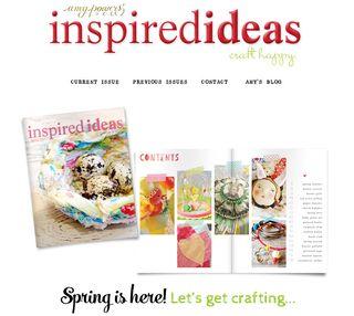 Inspired ideas magazine make things craft