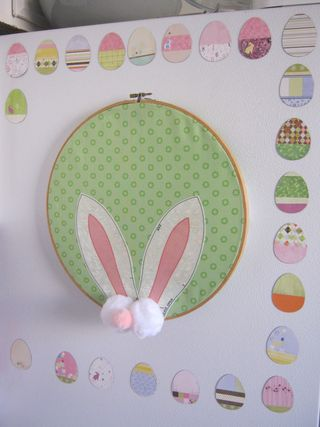 How to make an easter bunny ears decoration