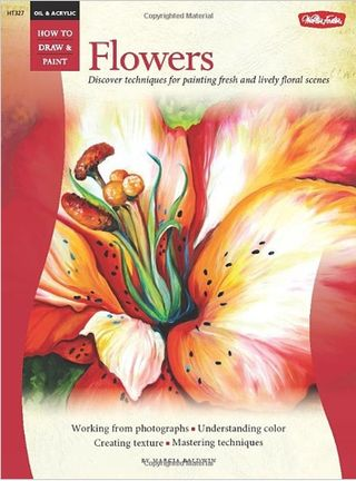 How to draw and paint flowers