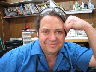 John sartin make metal jewelry