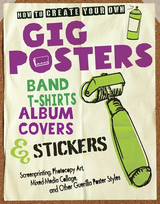 How to create gig posters stickers