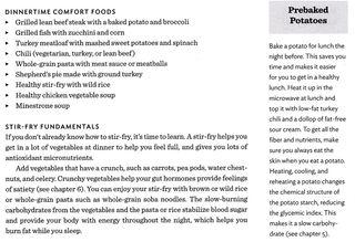 Baked potato slow carb dinnertime comfort food