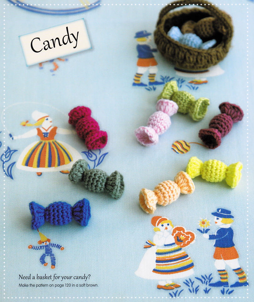How To Make Crochet Candies From The Book Simply Adorable Crochet