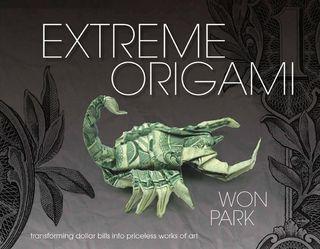 Extreme origami fold dollar bills