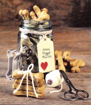 Minty dog biscuit recipe how to make