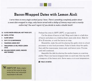 Recipe for bacon wrapped dates lemon aioli