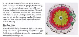How to make a raw edge applique