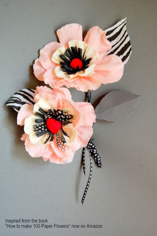 Craftside paper flower tutorials by maria noble author of how to and you can get yourself in the running to win a copy of how to make 100 paper flowers and some pretty papers by entering here mightylinksfo