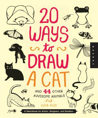 20 ways to draw a cat drawing book