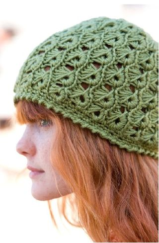 Broomstick lace hat margaret hubert