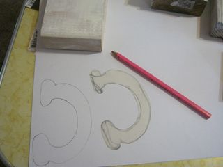 How to draw letters for sign