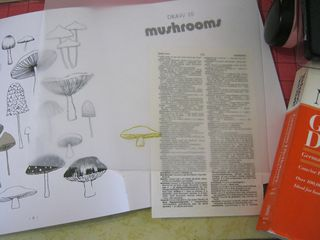 How to draw a mushroom make atc