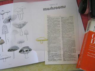 How to draw a mushroom make atc