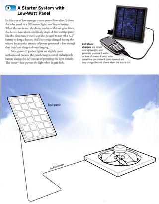 Starter_solar_system_low-watt_panel
