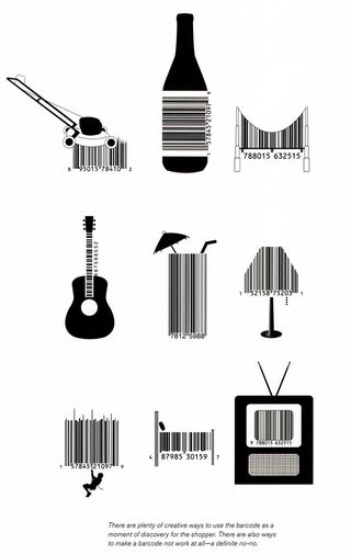 Bar code art unusual bar codes shapes