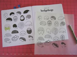 How to draw hedgehogs images clip art