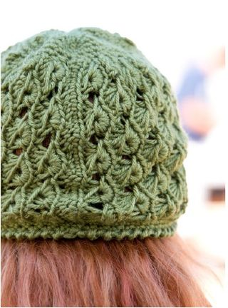 How to broomstick lace hat pattern