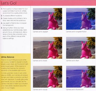 How to change color in photo light settings