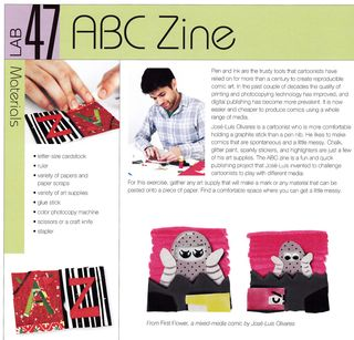 How to make an abc zine comic book