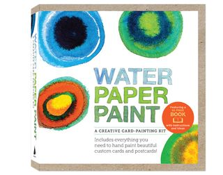 Water-paper-paint-kit