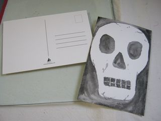 How-to-paint-skull-postcard