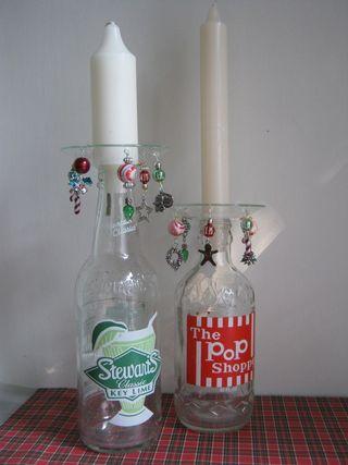 Recycled-soda-bottle-candle-holder-bead-bobesh