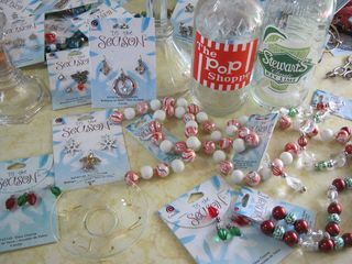 Beaded-candle-decorations-Christmas