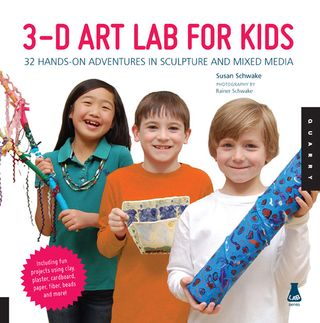 3-d art lab for kids book