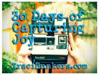 30 days of capturing joy