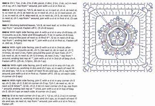 Acorn-crochet-granny square-pattern