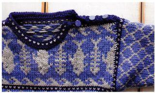 Knit-fish-pattern-fish-skeleton-sweater