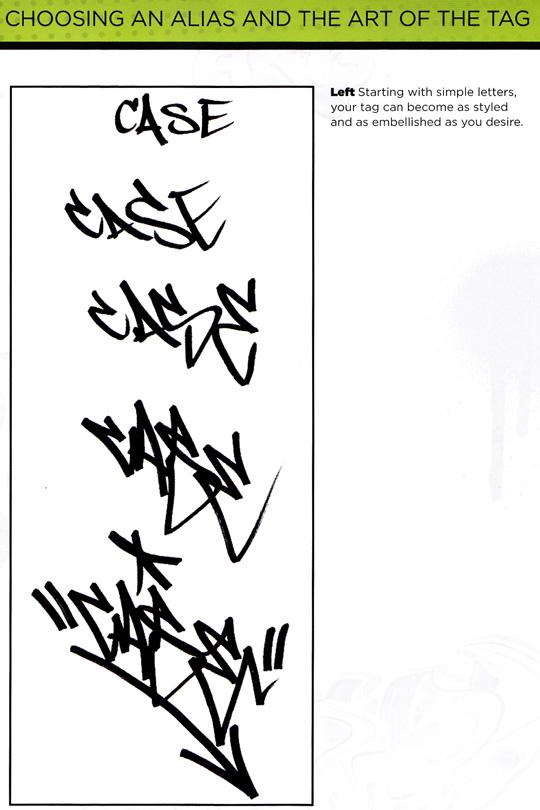 How To Draw Graffiti Style Write