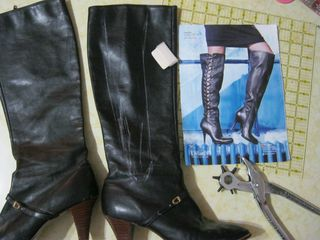 How-to-make-boots-lace-up