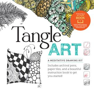 Tangle-art-drawing-kit