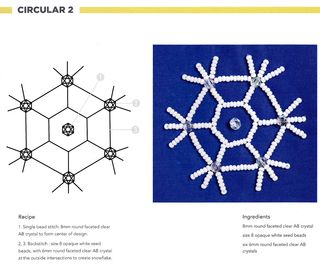 Bead-embroidery-snowflake