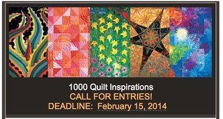 Call for entries 1000 quilt inspirations