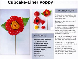 How-to-make-cupcake-liner-flowers