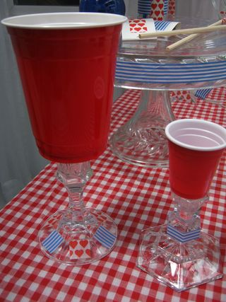 Red-solo-cup-stemware-shot-glass