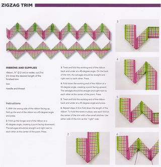 How-to-make-zig-zag-trim-ribbon