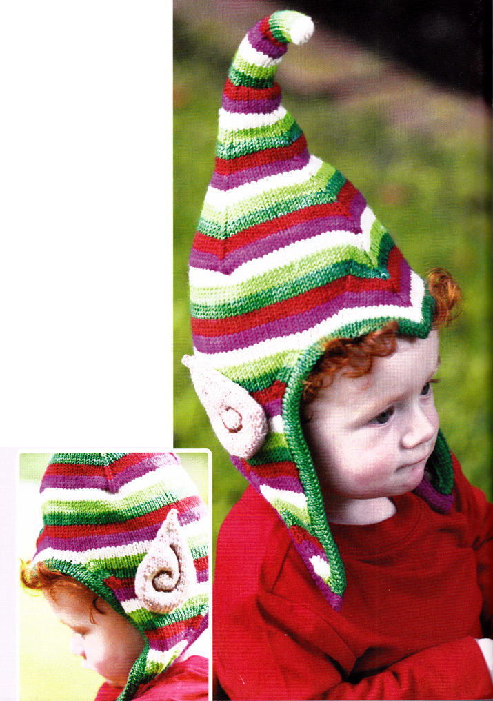 Craftside: How to Knit Elf Ears from Fun and Fantastical Hats to Knit