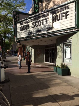 Mary Scott Huff Marquee