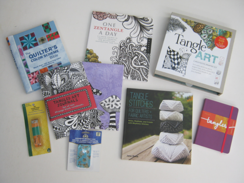 Tangle-stitches-zentangle books-kits-quilting